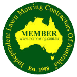 Independent Lawnmowing Contractors of Australia Member